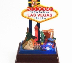 Las Vegas Strip Desk Model
