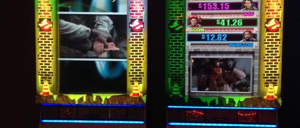 Ghostbusters Who Ya Gonna Call Slot Machine