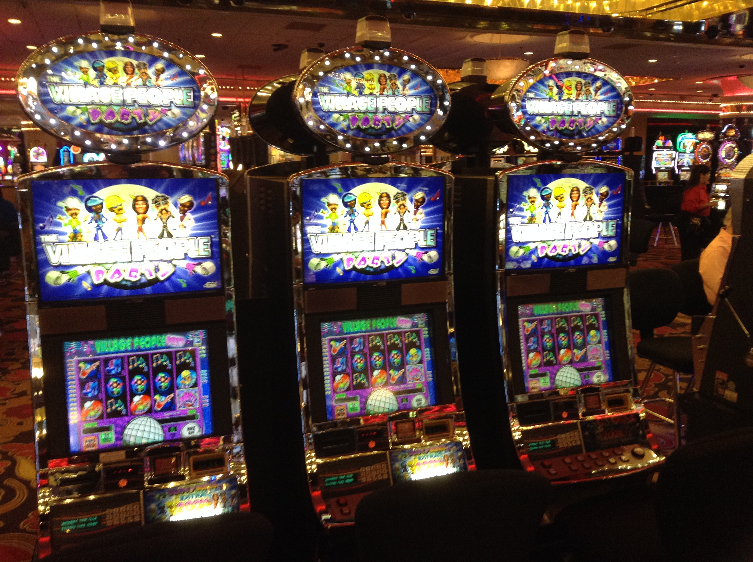 Slot machines casino las vegas