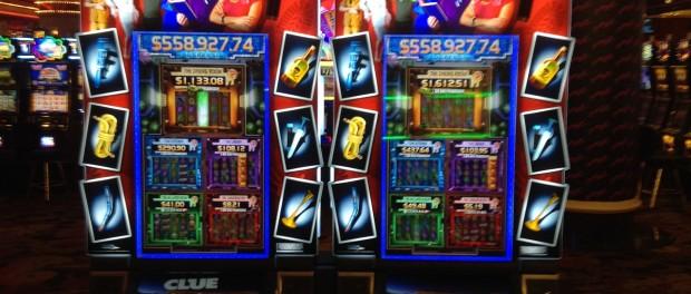 Clue Slot Machines