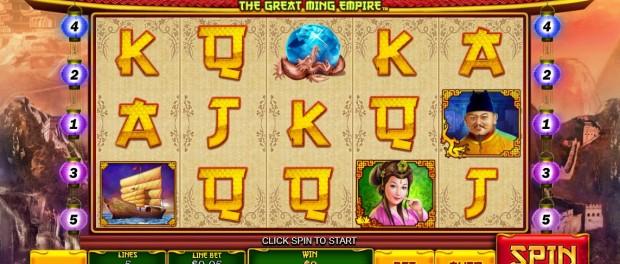 The Great Ming Empire Slot Machine at Dafabet Casino