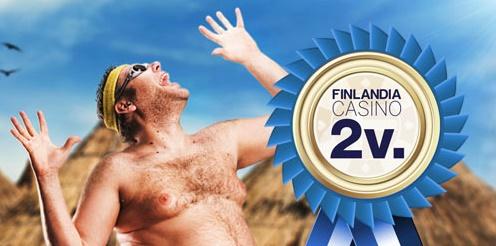 Finlandia Casino Second Birthday Giveaway