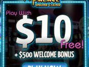 Get 10 Dollars Risk Free at African Palace Casino