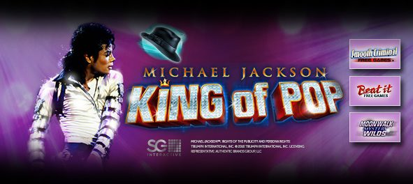 Michael Jackson King of Pop Slot Machine EuCasino