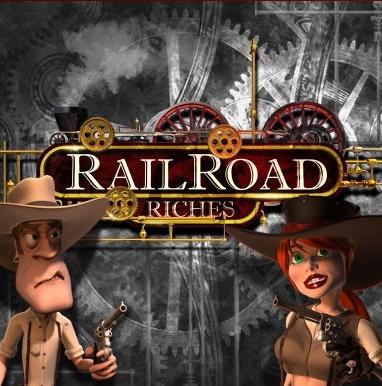 Railroad Riches Slot Machine at Sky Vegas
