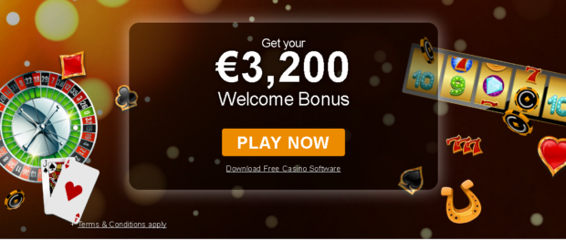 Big Casino Welcome Bonus at Casino.com
