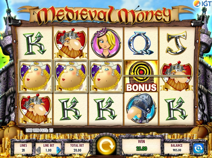 Medieval Money Slot - Play Now for Free or Real Money