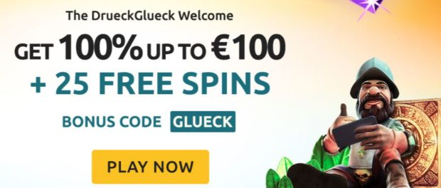 Drueck Glueck Online Casino Offer
