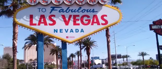 Welcome to Las Vegas Sign May 2017