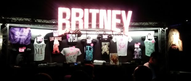 Britney Spears T Shirt Stand