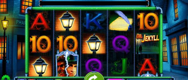 Dr Jekyll Goes WIld Slot Machine at SlotsMagic Casino