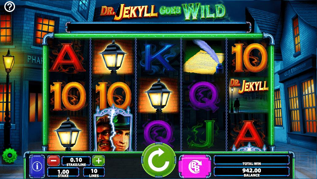 Dr. Jekyll Goes Wild Slot Machine