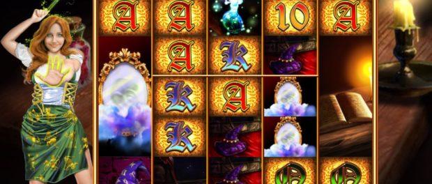 Enchanting Spells Slot Machine at EUCasino