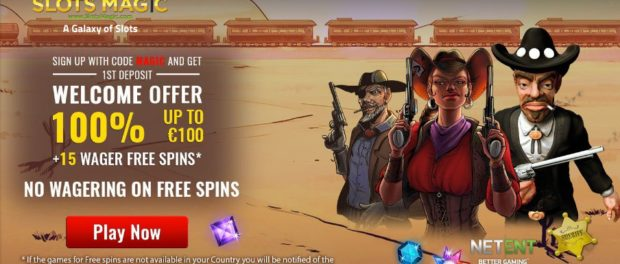 Slots Magic Casino Joining Offer