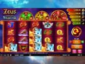 Zeus God of Thunder Slot Machine at EU Casino
